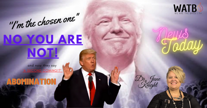 The Second Coming of Donald J. Trump Announcement image