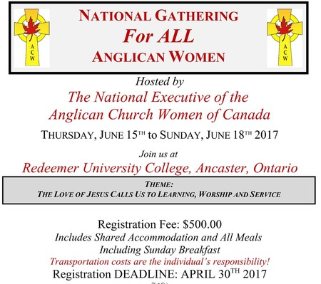 National Gathering for All Anglican Women