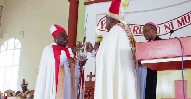 Prayers and Blessings for Archbishop Sixbert Macumi in his New Ministry