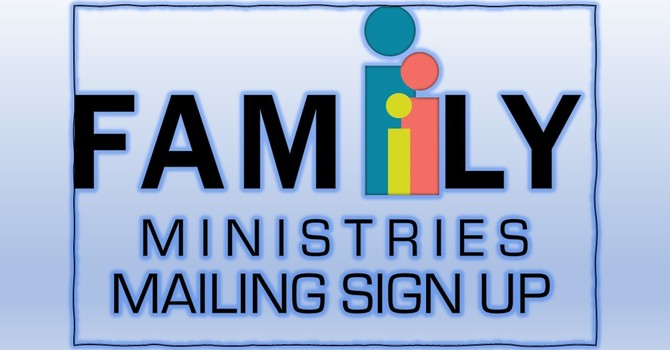 Fall Ministry Mailings!