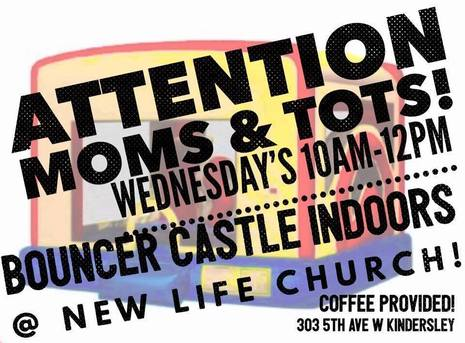 MOMS & TOTS Bouncy Castles!