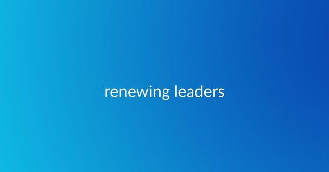 Renewing Leaders image