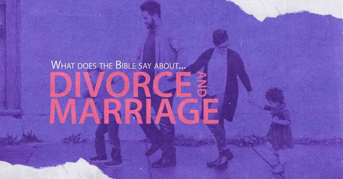What does the Bible say about Divorce?  image