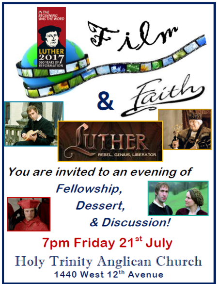 Film & Faith Evening - Luther
