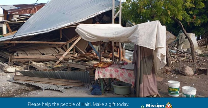 Pray for the people of Haiti: The United Church of Canada image