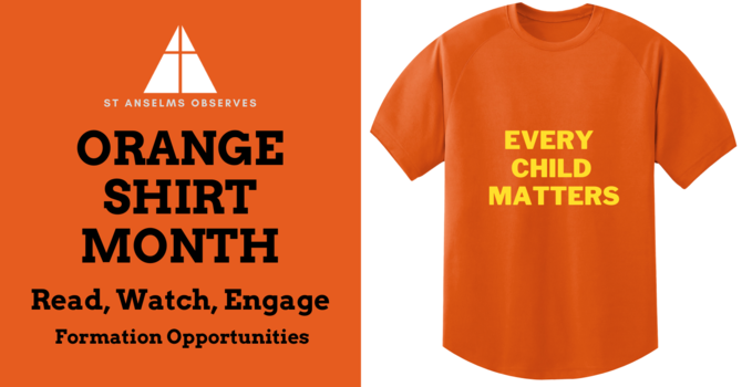 September is Orange Shirt Month: Read, Watch, Engage image