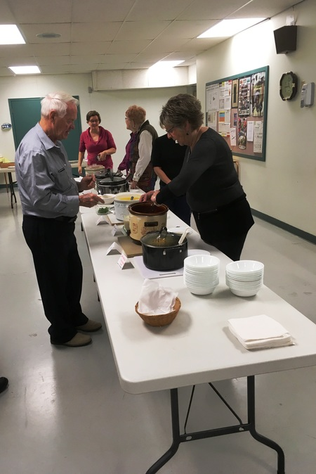 Canadian Food Grains Bank Soup and Bun Lunch