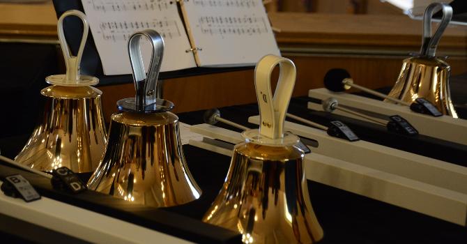 Handbell Choir Rehearsal