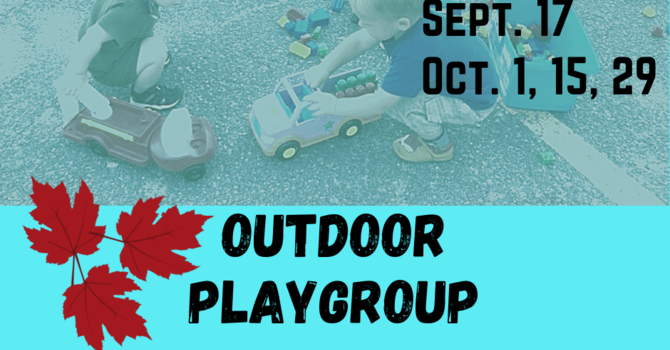 Outdoor Playgroup
