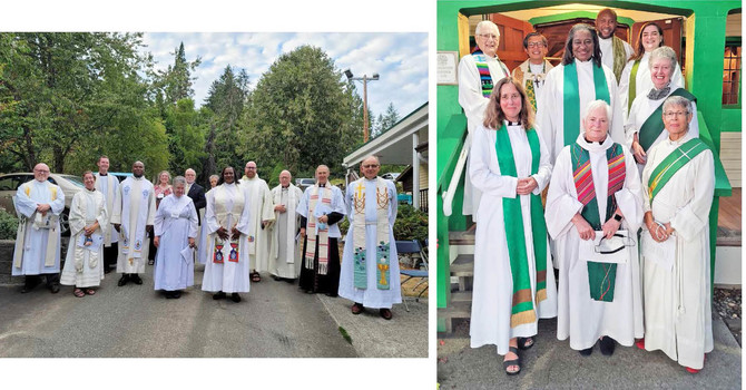 Celebration of a New Ministry in Whonnock and Port Kells: Photo