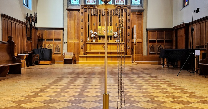 Our New Thurible Stand: A Story of Friendship from the Pandemic image