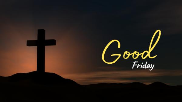 Good Friday 2021 (Mark's Gospel)