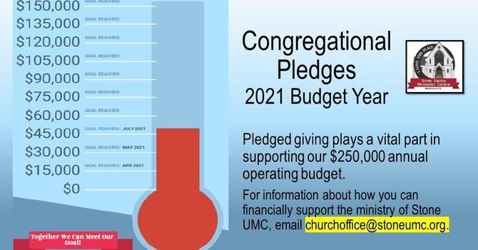 Congregational Pledges Chart