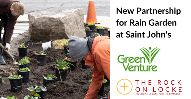 New Partnership to Build Rain Garden at Saint John's image
