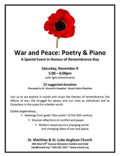 Remembrance day poetry and piano 2013 colour
