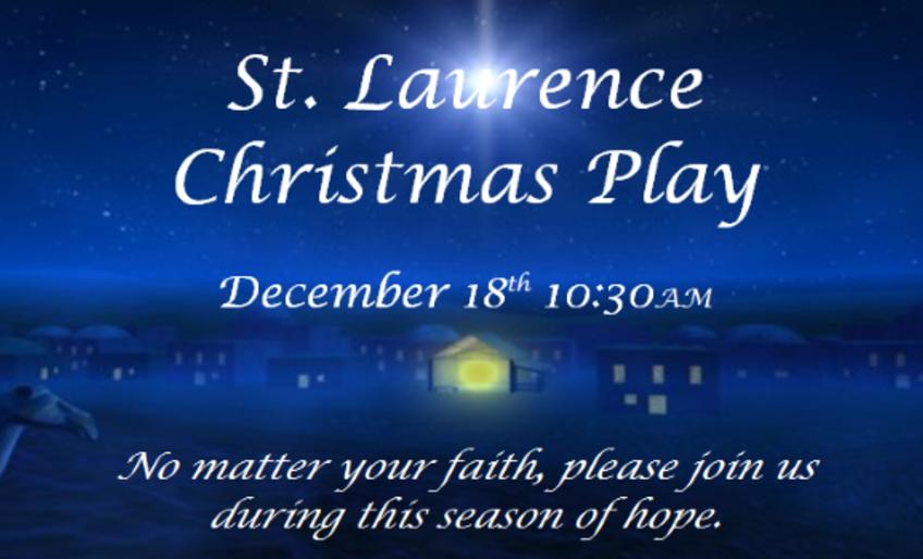 St. Laurence Christmas Play