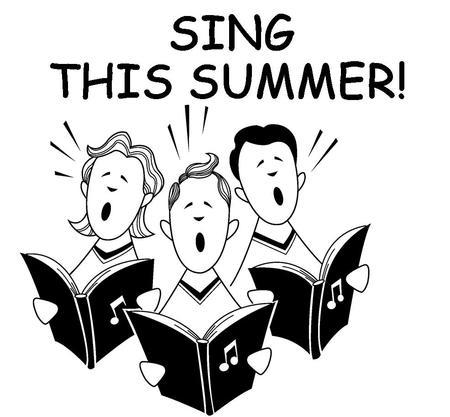 Summer Choir Rehearsal