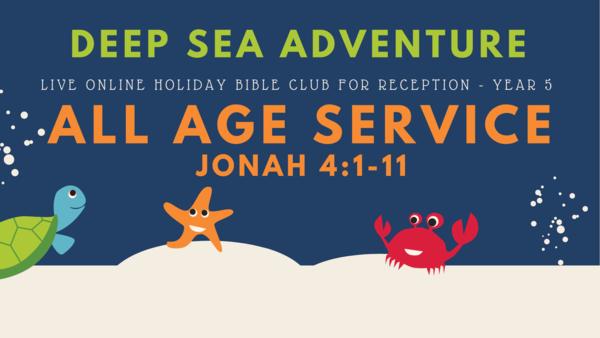 Deep Sea Adventure Holiday Bible Club 2021