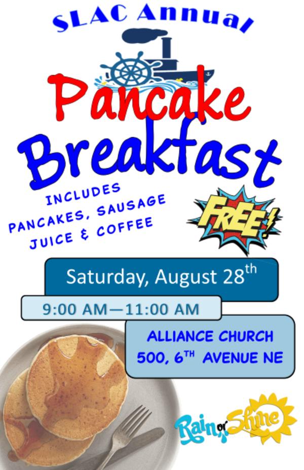 All In Community Pancake Breakfast