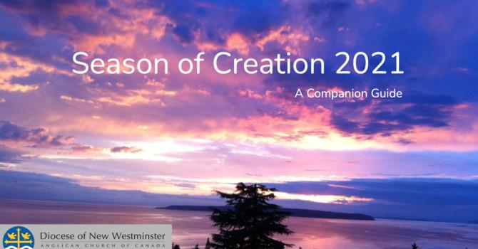 Season of Creation - September 5th - October 3rd image