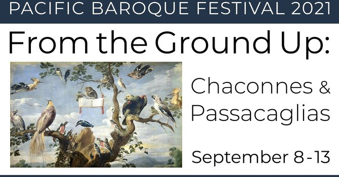 Pacific Baroque Festival returns September 8 to 13 image