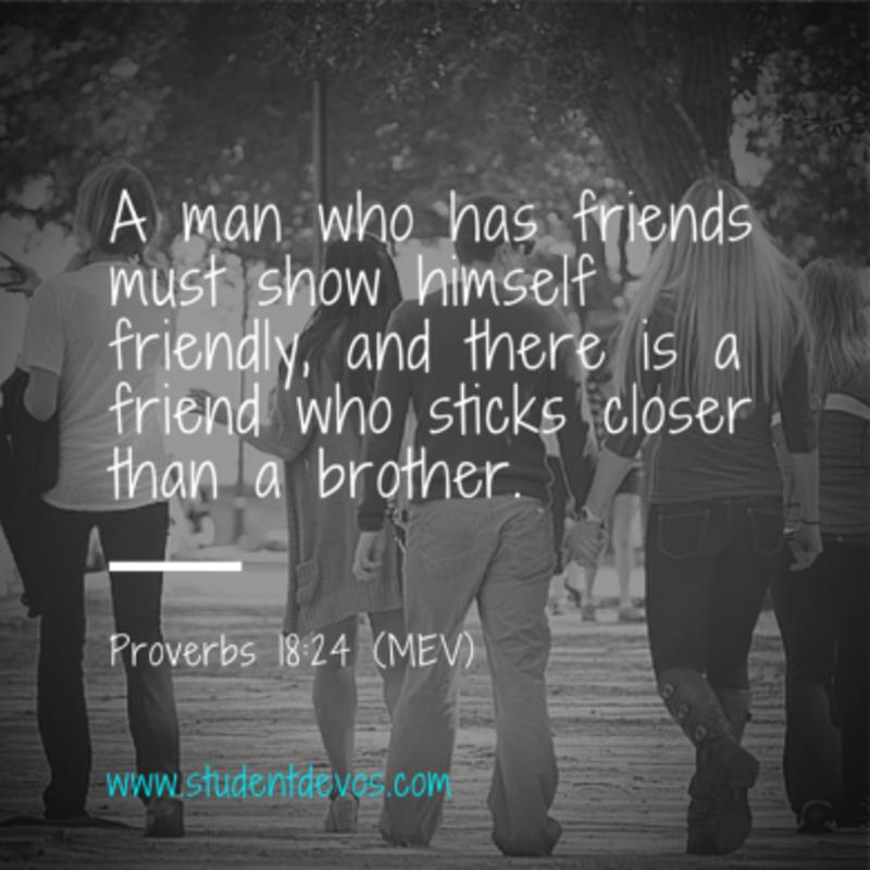 What Makes a Good Friend?