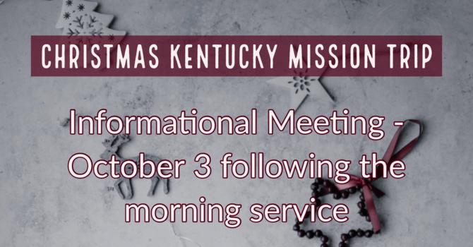 Kentucky Informational Meeting