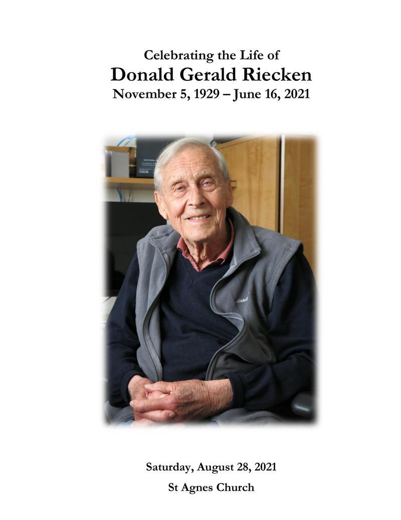 Don Riecken Memorial