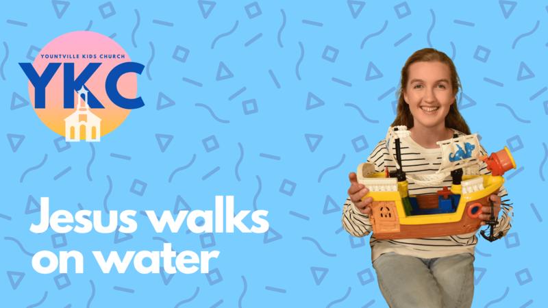 Jesu Walks on Water