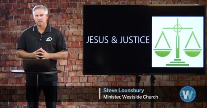 Jesus & Justice - Audio