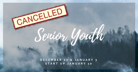Sr Youth Cancelled