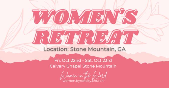 Women's Retreat Update image