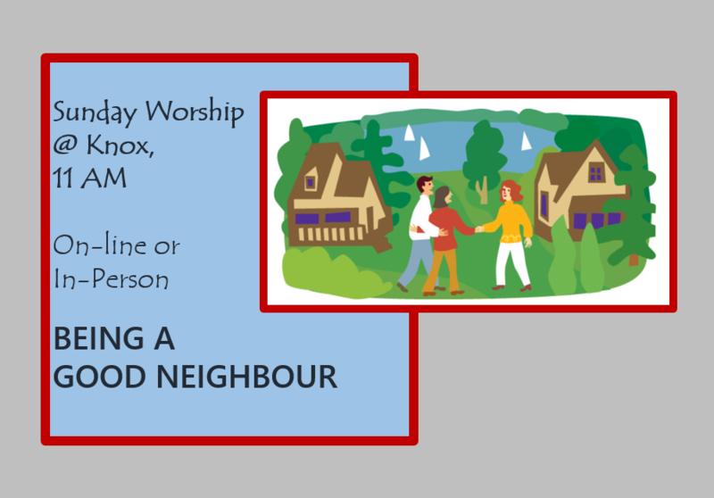 Being a Good Neighbour