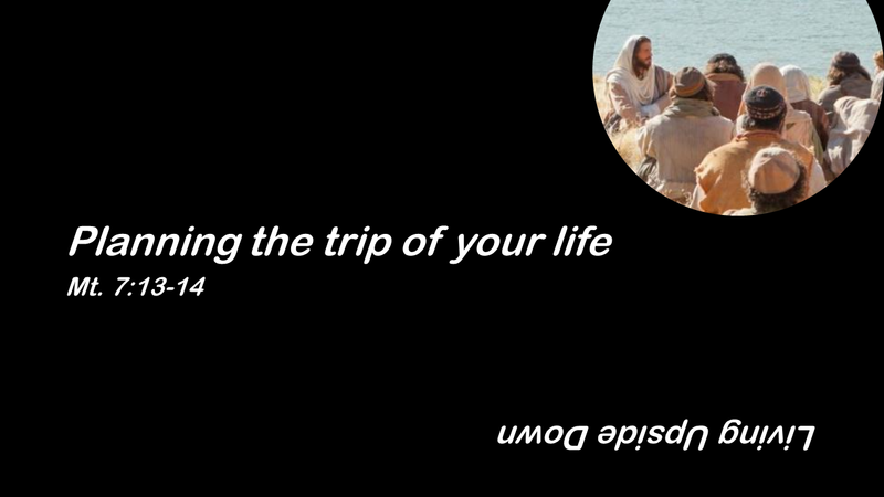 Planning the Trip of Your Life