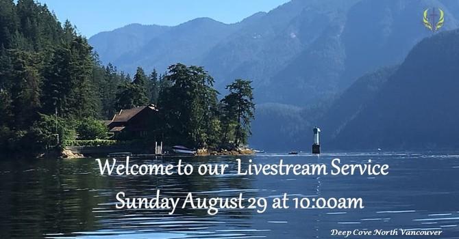 Sunday August 29 Livestream Service