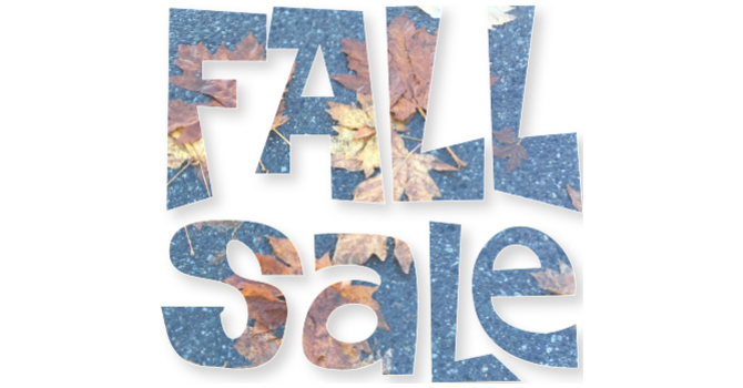 FALL SALE - Sept. 25th, 9am to 1pm image