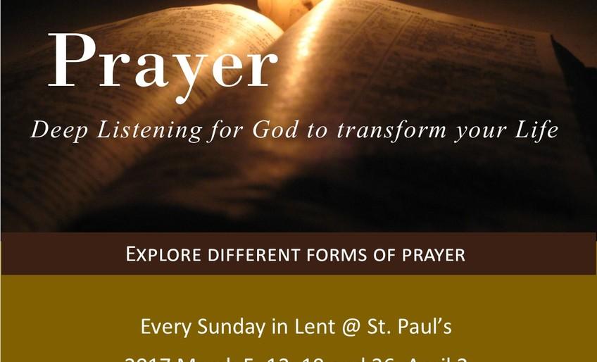 Prayer: Deep Listening
