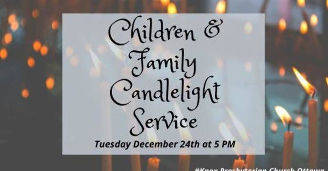Family Friendly 5 PM Candlelight Christmas Eve