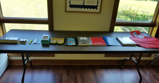 School Supplies Available image