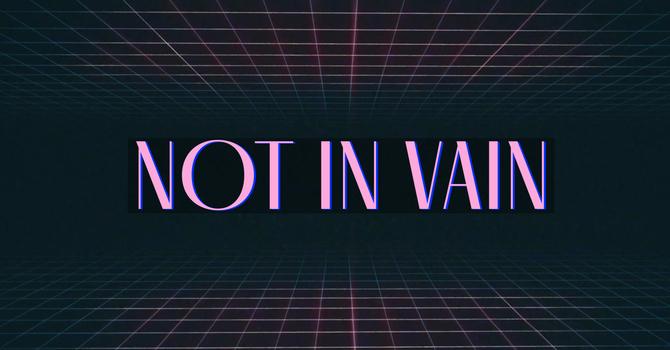 Not In Vain
