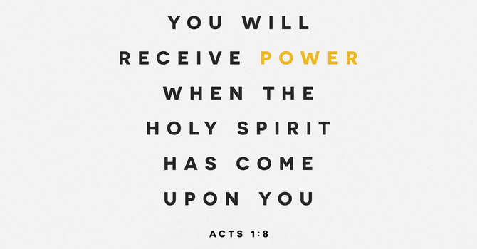 You will receive power!  image