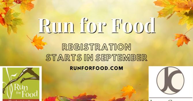 Jesus Center Run for Food Registration image
