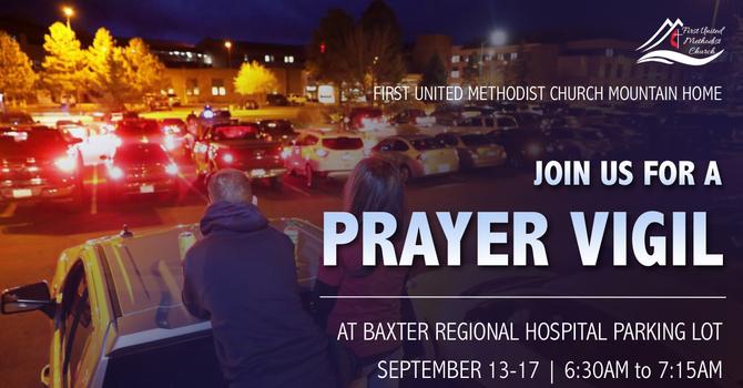 BRMC Parking Lot Prayer Vigil image