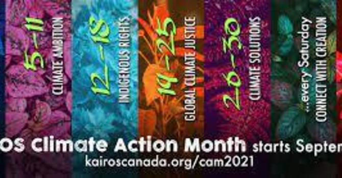 Climate Action Month with KAIROS Canada
