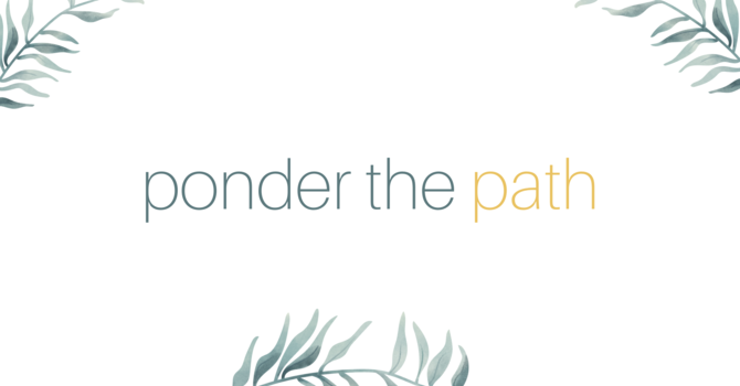 Ponder the Path