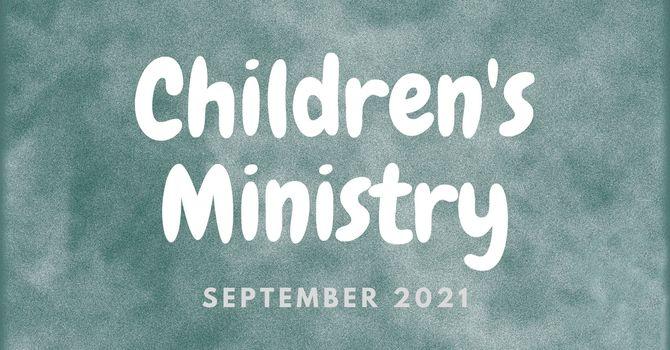 September Children's Ministry Update image