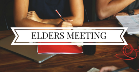 Elders Meeting