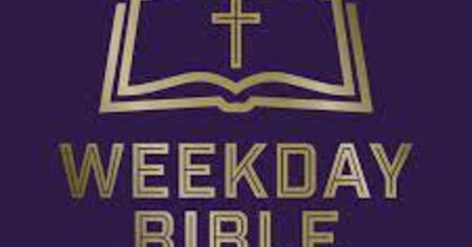 Weekday School of the Bible Need image