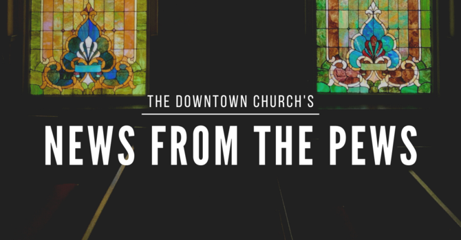 News from the Pews - August 26, 2021 image