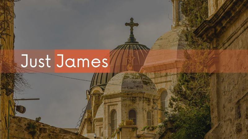 Just James - Week 1